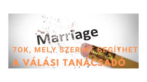 7 ok, mely szerint a válási tanácsadó segíthet a válásban